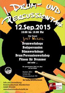 Plakat drummertag