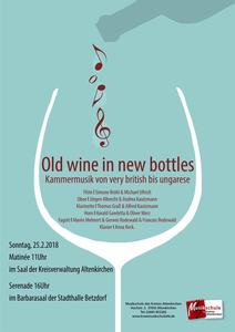 Kammerkonzert Old Wine