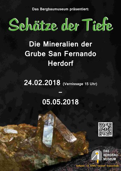 Plakat Mineralien San Fernando