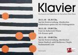 Plakat Klavierkonzerte 2018