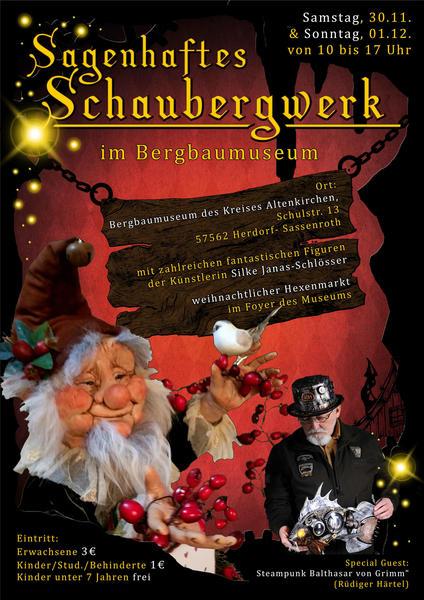 Plakat Sagenhaftes Schaubergwerk 2019