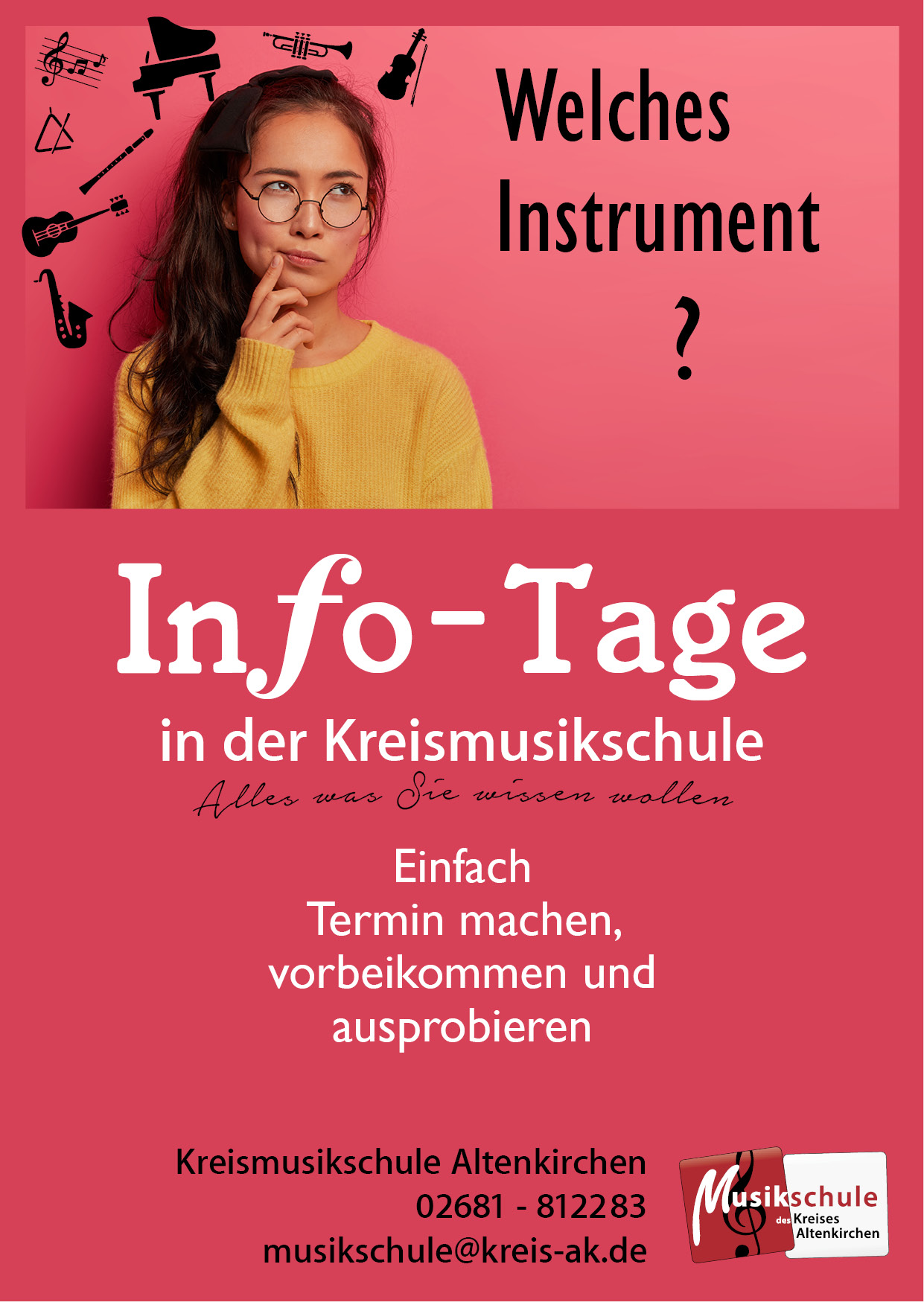 Instrumente Info Tage