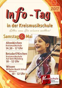 Infotag 2017 der Kreismusikschule