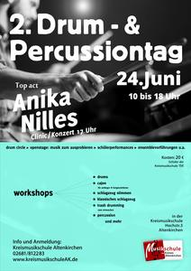 Plakat Drum & Percussiontag