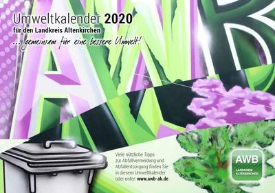 PM 45-AWB-Titelseite Umweltkalender 2020