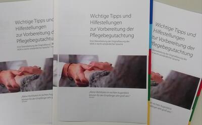Broschüre Pflegebegutachtung